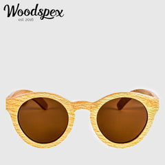 Duwood Sunglass - Brown Beach Wood