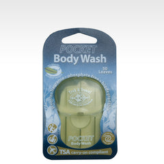Travel Pocket Body wash (50 leaves)