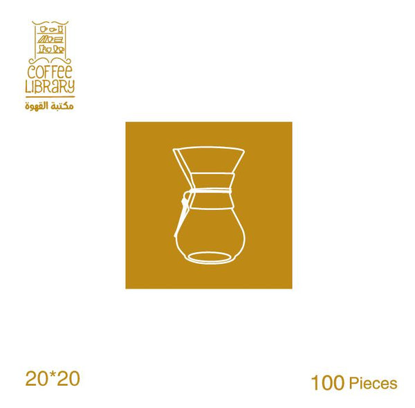 Filter Chemex 3 cup Coffee library