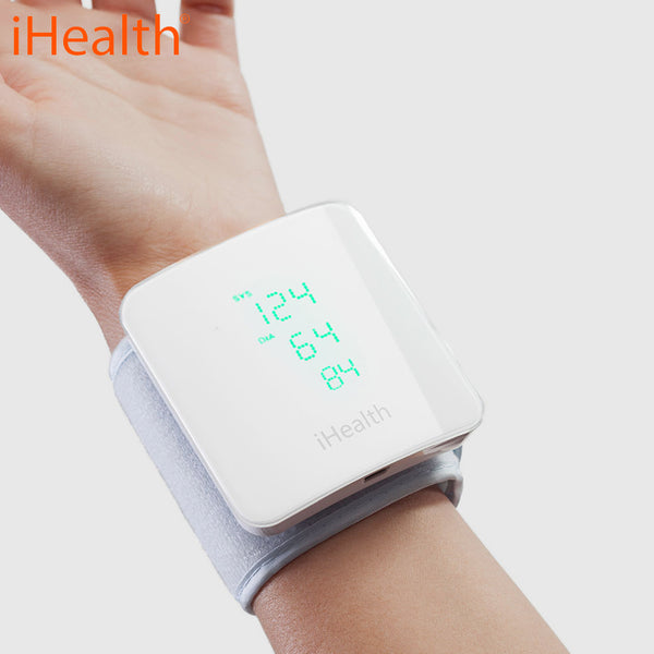 I HEALTH VIEW - Wireless Blood Pressure Wrist Monitor