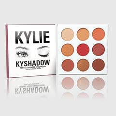 KYLIE-The Burgundy Palette