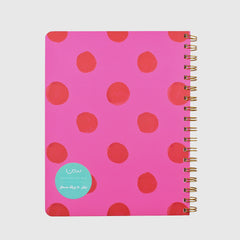 Dotted Wired Notebook