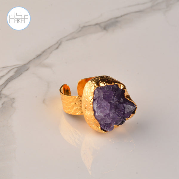 Ring - Purple Stone