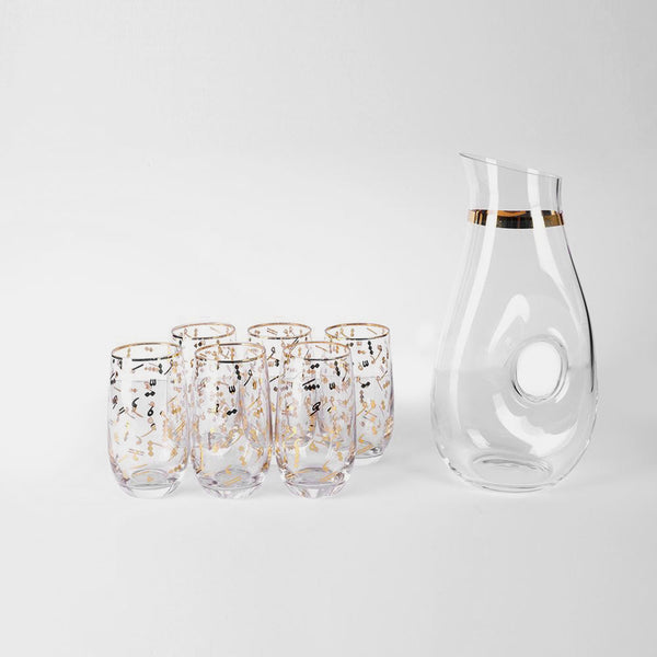 Jug and cups set