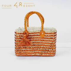 Beach Handbag  - Orange