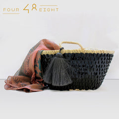 Beach Handbag  - Black
