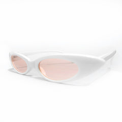 Sunglass - White & Pink