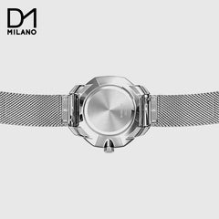 D1 MILANO  - Watch Silver with Silver Milanese bracelet