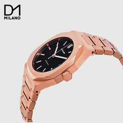 D1 Milano  - Automatic Rose Gold with Black Dial
