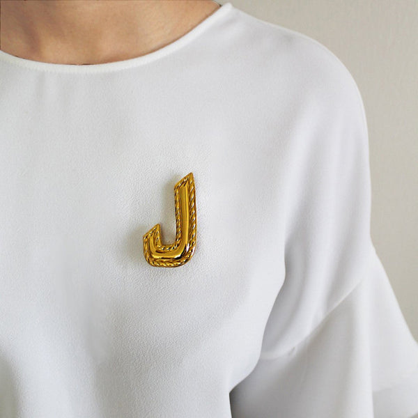 Brooch The Arabic Letter Lam