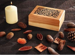 Calligraphed Wooden Box