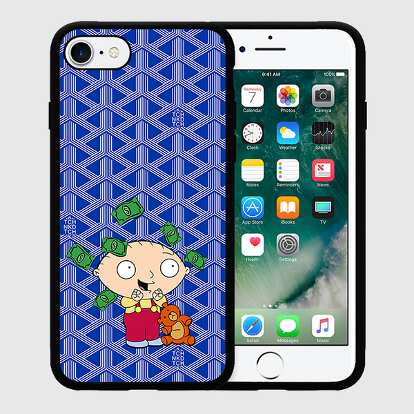 STEWIE - iPhone 7+ Case - Blue