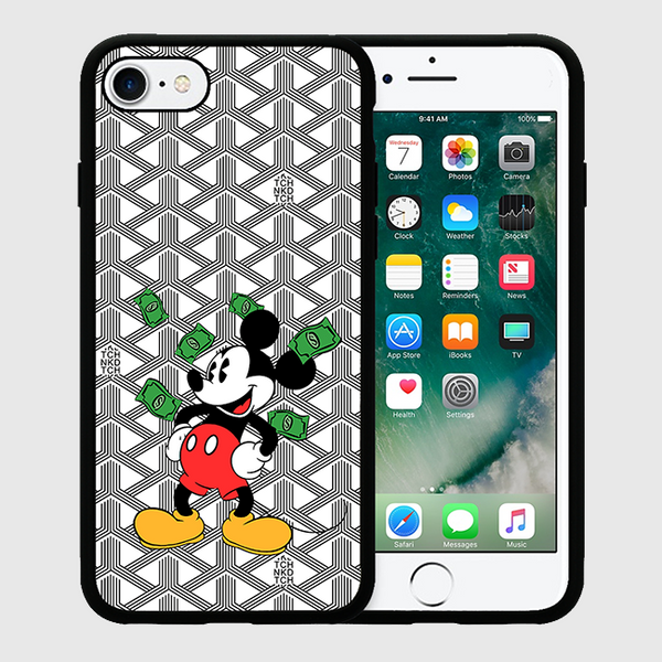 MONEY MICKEY - iPhone 7/7+ Case - White