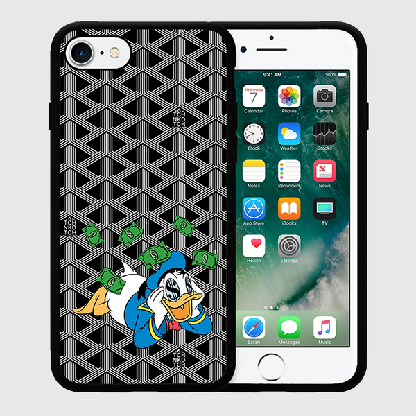 DREAMIN DONALD - iPhone7 Case - Black