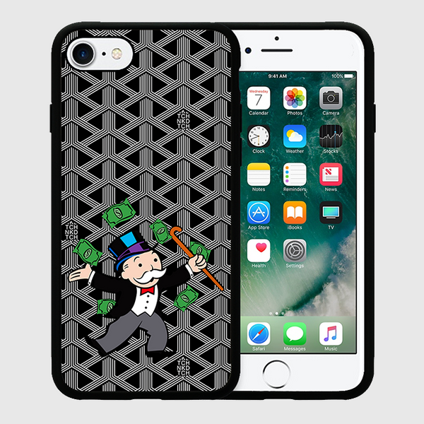 MR.MONOPOLY - iPhone 7 / 7+ Case - Black