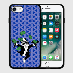 MR.MONOPOLY - iPhone 7 / 7+ Case - Blue