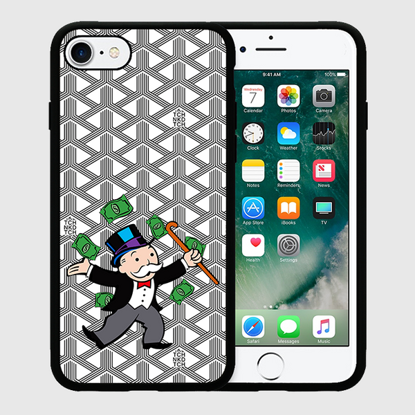 MOBBIN MONOPOLY - iPhone 7 / 7+ Case - White