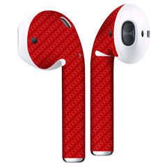 AirPods Carbon Fiber Skin - Red