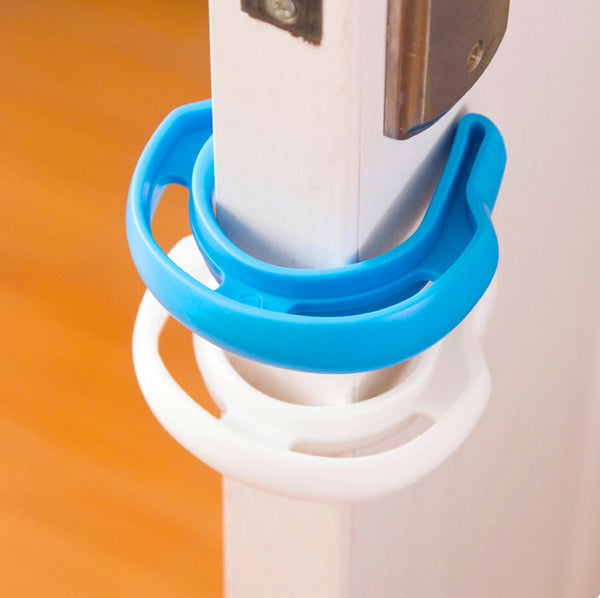 Secure Door Stopper Clip for Child Safety