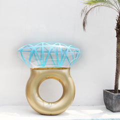Inflatable Floating Diamond Ring
