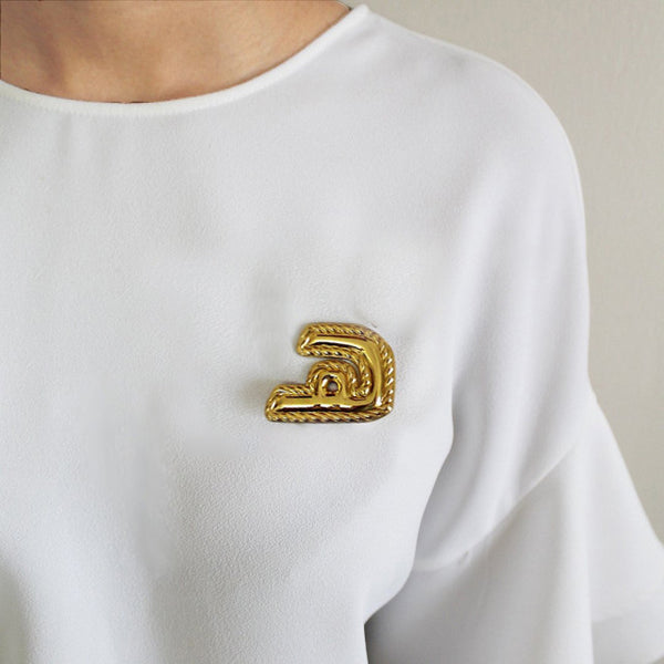 Brooch The Arabic Letter Haa