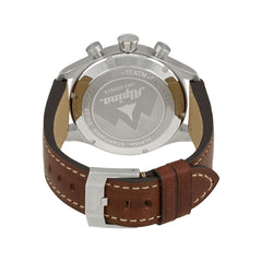 ALPINA - Startimer Automatic Stainless Steel Watch with Leather Casual
