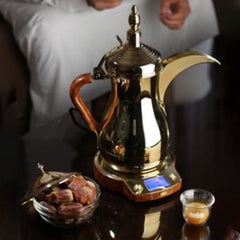 Golden Arabic Coffee Maker