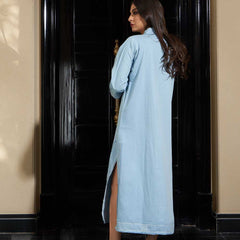 N Designs Dress - light blue