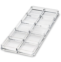 Acrylic Makeup Organizer - 10 Cells