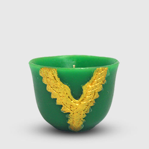 Candle Coffee Cup - Green