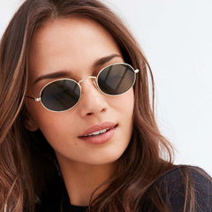 Sunglass  - Black & gold #2