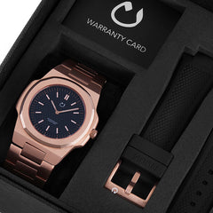 Nuun watch - Montre  Rose Gold