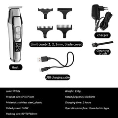 Professional Hair Trimmer - Grey