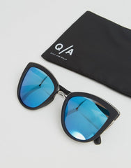 Quay Australia My Girl Mirror Cat Eye Sunglasses
