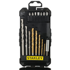 STANLEY - Bit Set - 16 Pcs