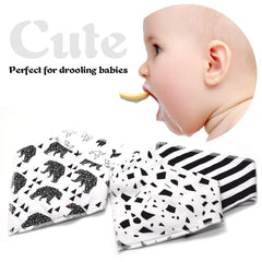 Adjustable Snap Bibs ( 4 pcs)