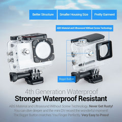 Waterproof Helmet Sports Camera