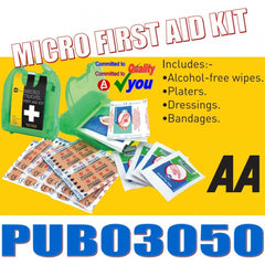 AA - travel first aid kit
