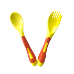 SYNCON BABY - Soft grip spoon & Fork