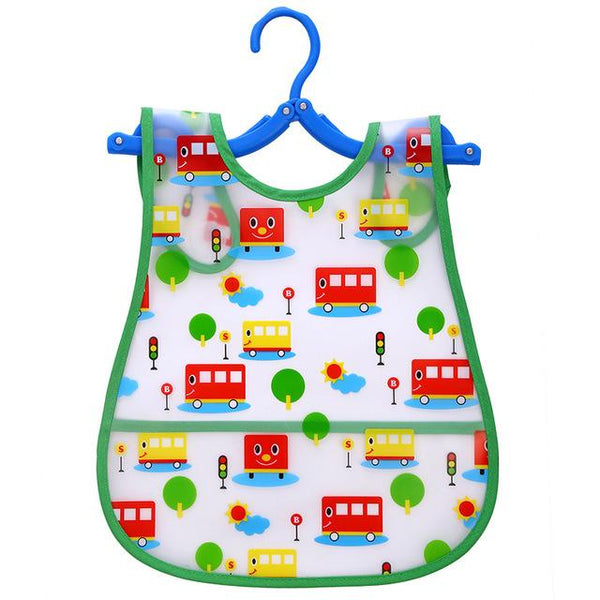Plastic infant bib