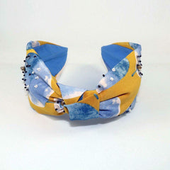 Hairband - Yellow & Blue