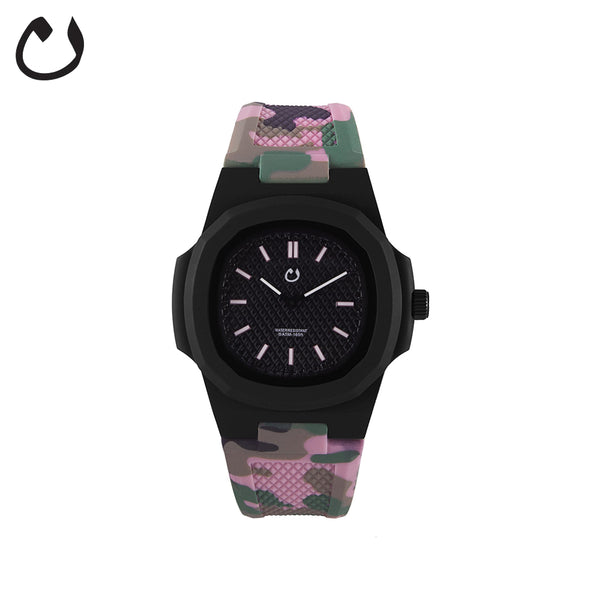 Nuun watch- Camo Pink