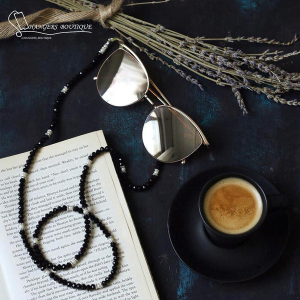 Chains for glasses - black