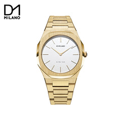 D1 Milano - Ultra Thin Gold Dial Gold Tone