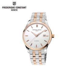 FREDERIQUE CONSTANT - Classics Stainless Steel Analog sliver & rose gold Watch