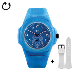 Nuun - Watch TCA - Blue with two Straps
