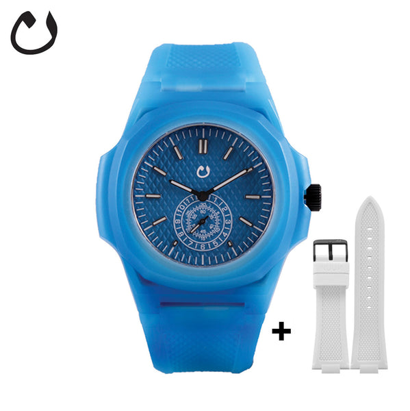 Nuun - Watch TCI - Blue with two straps