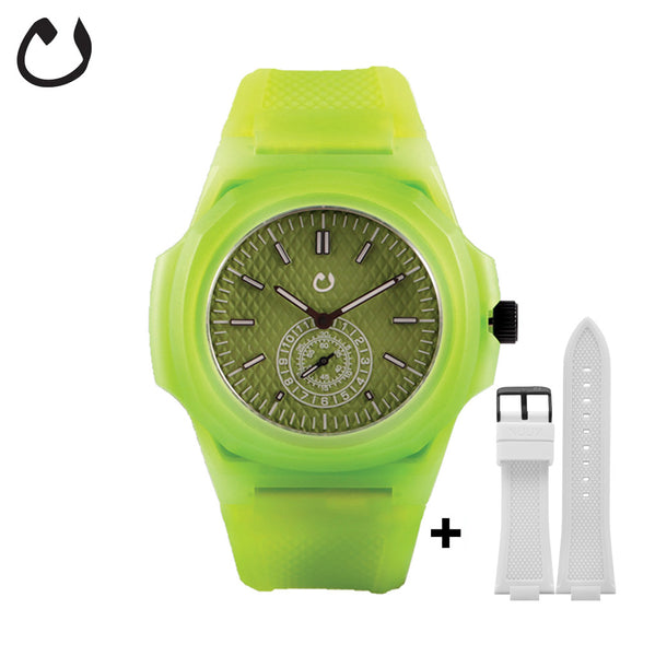 Nuun - Watch TCI - Lime with two straps
