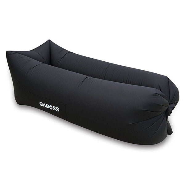 GABOSS - Inflatable Outdoor Indoor Sofa Bed - Black