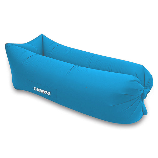 GABOSS - Inflatable Outdoor Indoor Sofa Bed - Blue